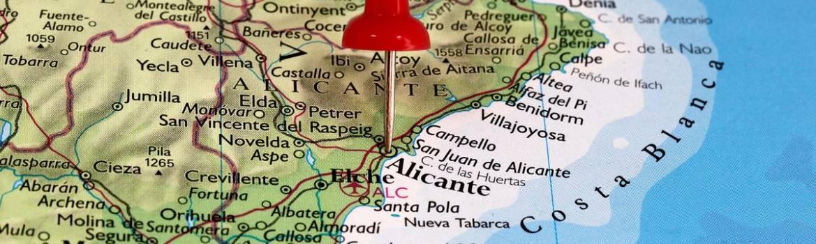 mapa de costa blanca