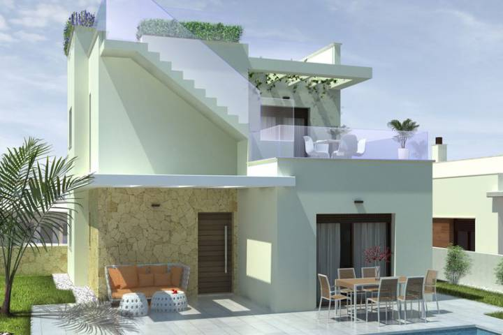 Villa/Detached house - New Build - Ciudad Quesada - Pueblo Bravo
