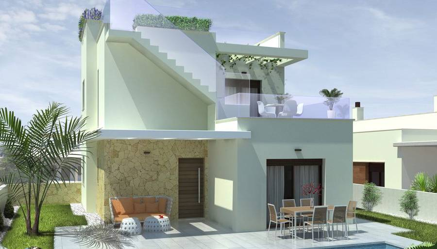 New Build - Villa/Detached house - Ciudad Quesada - Pueblo Bravo