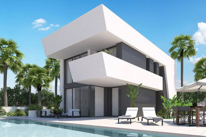 Villa/Detached house - New Build - La Marina - El Pinet