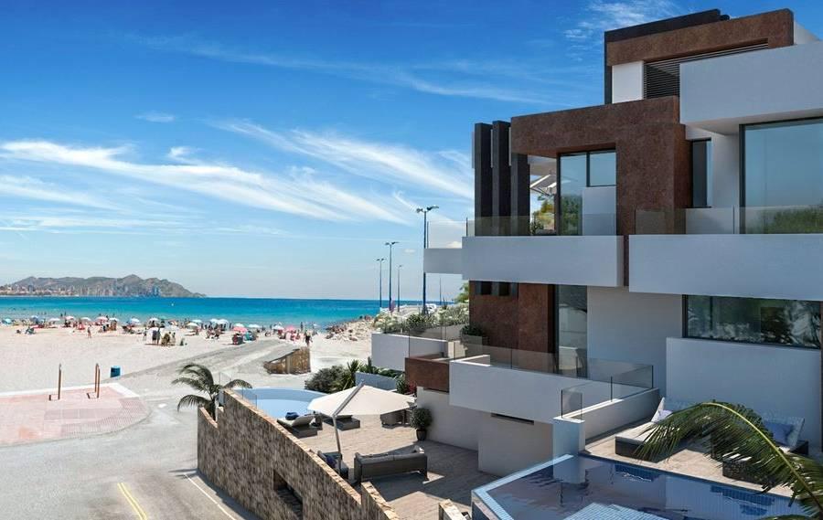 Apartamentos De Lujo En Primera Línea De La Playa Y