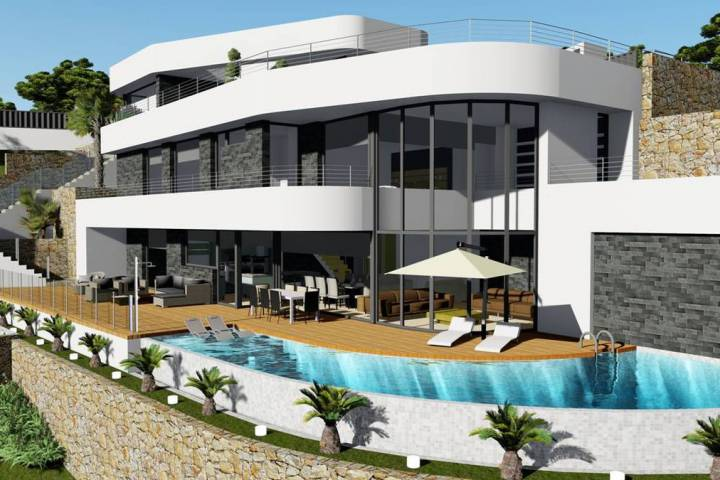 Villa/Detached house - New Build - Benissa - Benissa