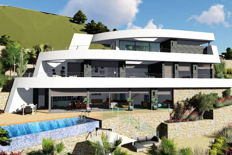 New Build - Villa/Detached house - Benissa