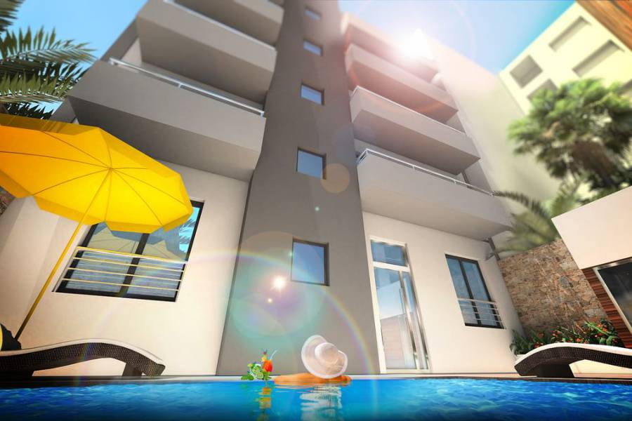 Nouvelle construction - Appartement - Torrevieja - Nueva Torrevieja