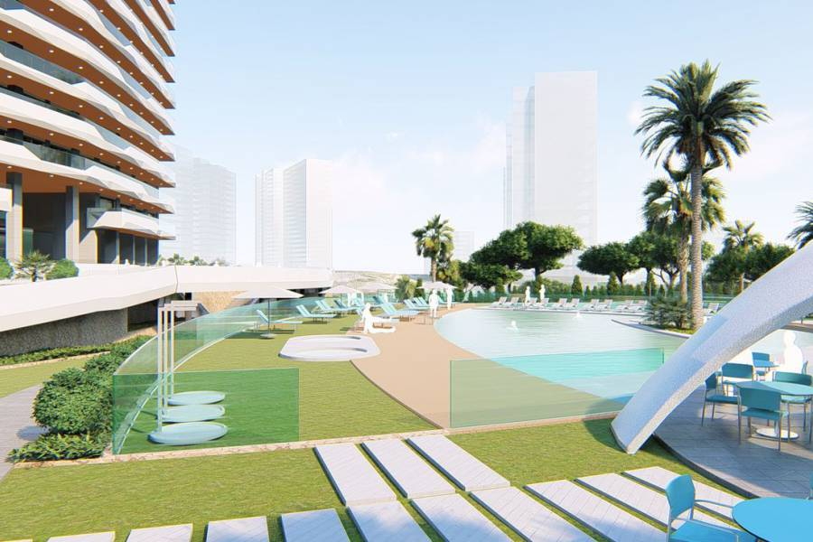 Nouvelle construction - Appartement - Benidorm - Benidorm Playa