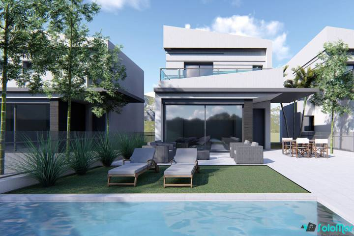 Villa/Detached house - New Build - Almoradi - Almoradi